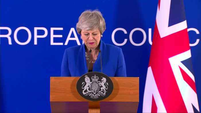 UK's May urges parliament to deliver Brexit