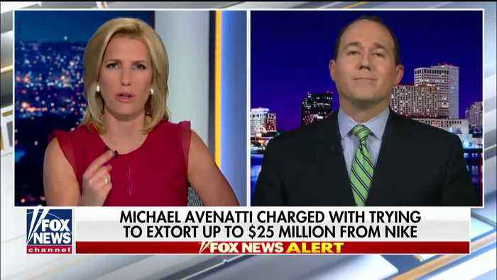 Raymond Arroyo reacts to  the arrest of Michael Avenatti