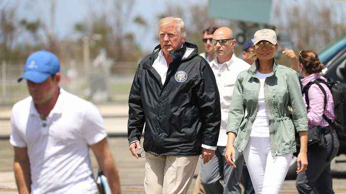 Trump Wildly Inflates Money Puerto Rico Got For Hurricane Recovery