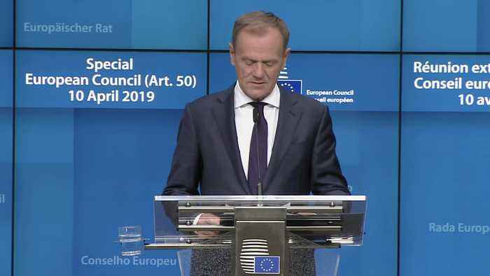 Donald Tusk: UK has six months to find Brexit solution