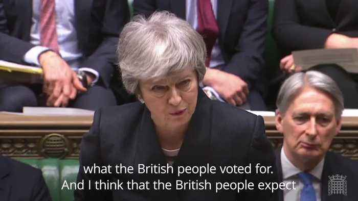May tells MPs it is their national duty to agree Brexit deal
