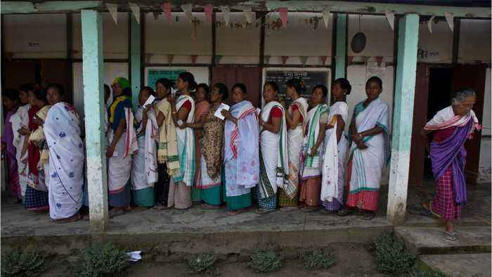 Huge Voter Turnout Expected For India's Election