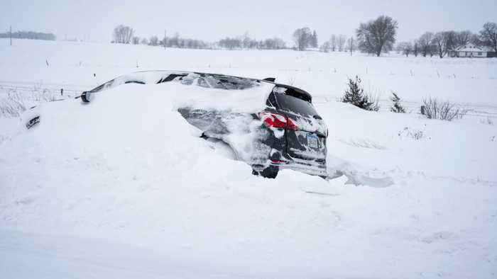 U.S.Plains And Midwest States Bracing For More Winter Storm Activity