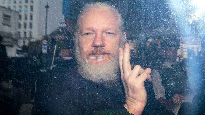Julian Assange Arrested, Charged With Conspiracy To Hack Government Computer | THR News