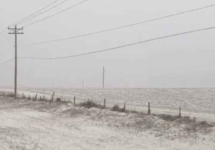 Wind Shakes Power Lines Amid Outages in South Dakota