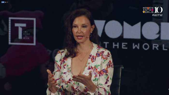 Ashley Judd On When She Spoke Out About Harvey Weinstein
