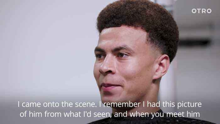 Dele Alli praises Raheem Sterling for dealing with criticism