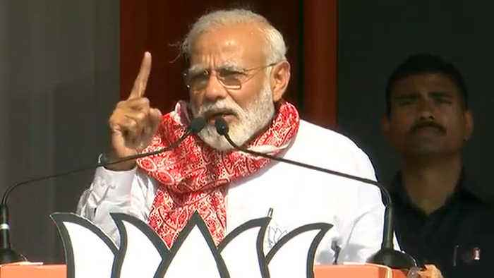 PM Modi hits Congress over corruption during his rally in Assam | Oneindia News