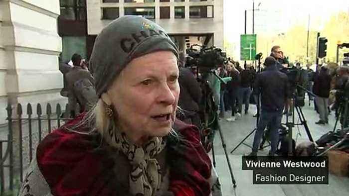 Westwood: Assange is 'freedom fighter' for freedom of speech