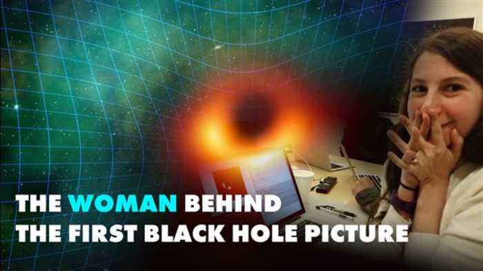 The woman behind the first black hole picture