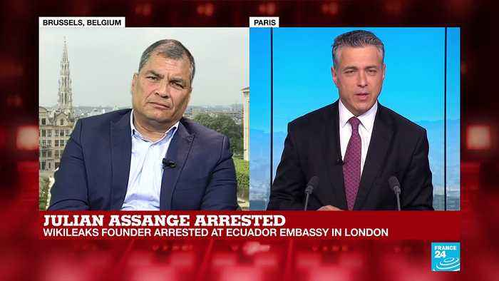 2012 Ecuador President: 'You cannot expel Assange from the embassy'