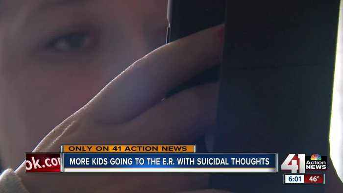 Children's Mercy sees spike in suicide-related ER visits among kids, teens