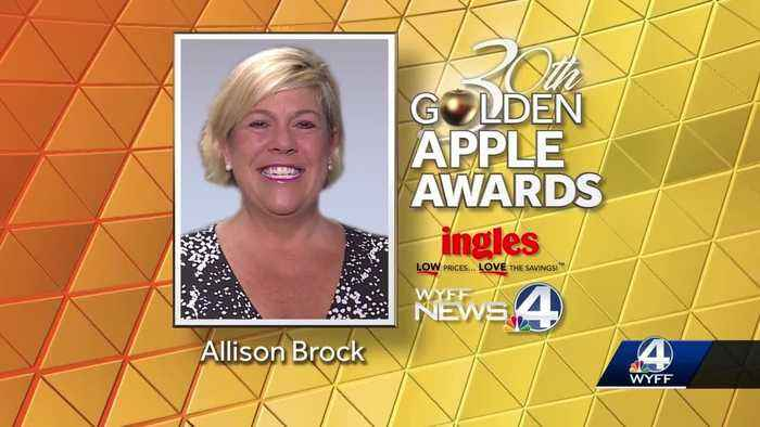 This week's Golden Apple Winner is Allison Brock
