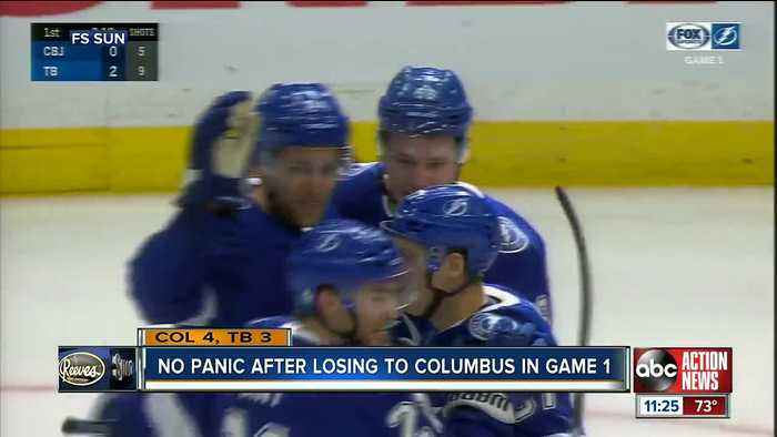 Tampa Bay Lightning look to bounce back from Game 1 collapse