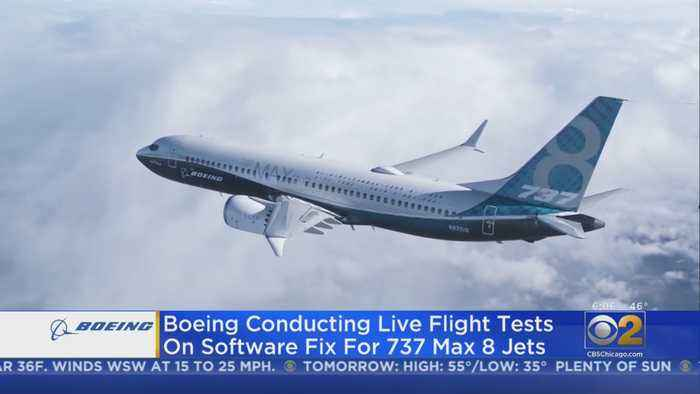Boeing Conducts Software Update Test On 96 Flights