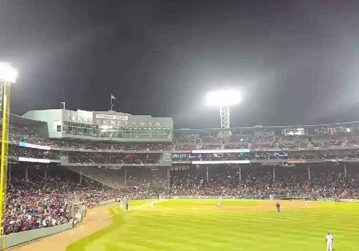 Sox Complain to Cops After Drone Flown Over Fenway