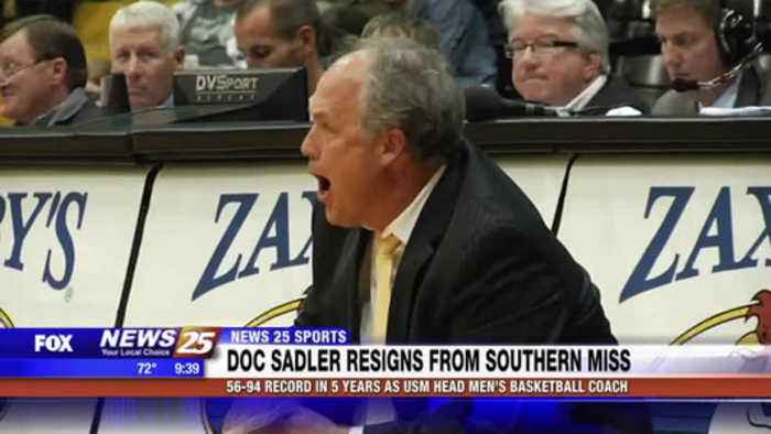Doc Sadler resigns as Southern Miss head men's basketball coach