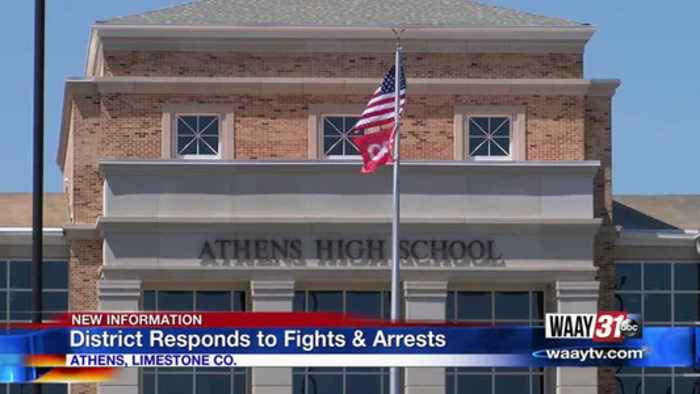 Athens School District Responds to Fights & Arrests