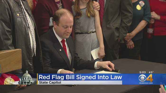 Red Flag Bill Signed Into Law