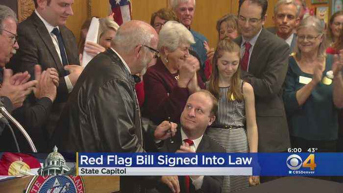 Red Flag Bill Signed Into Law By Gov. Jared Polis