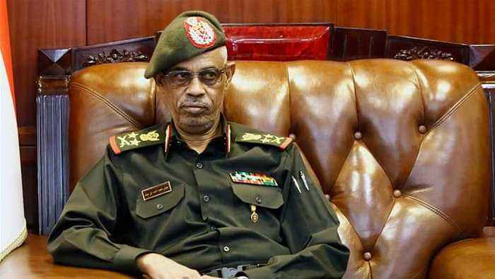 Sudan's Ibn Auf steps down as head of military council