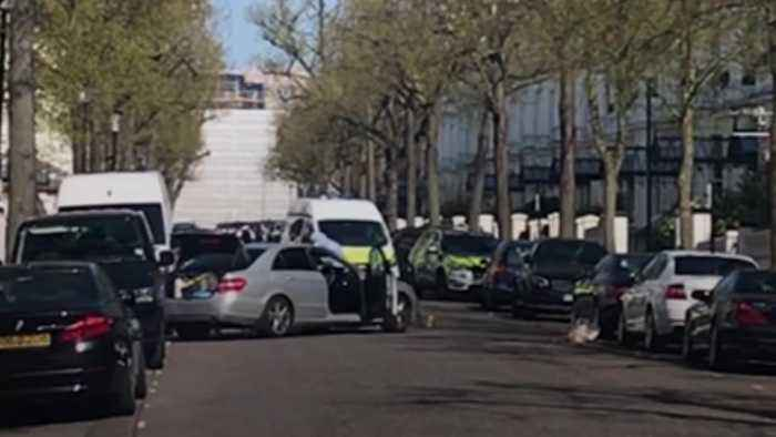 Police confirm officers fire shots near Holland Park in London