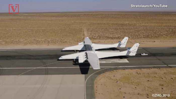World's Largest Airplane Takes Off for the First Time