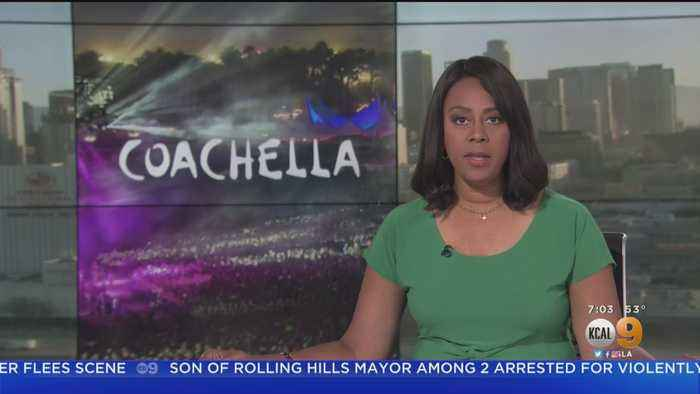 Fire Breaks Out At Coachella Campgrounds