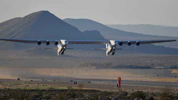 World's largest plane takes off for the first time