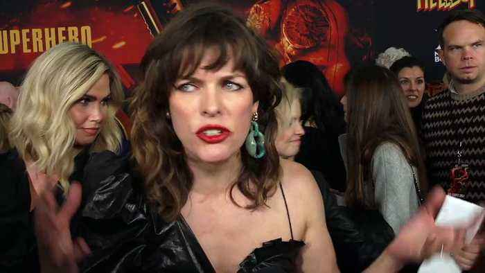 Milla Jovovich At 'Hellboy' Screening Premiere