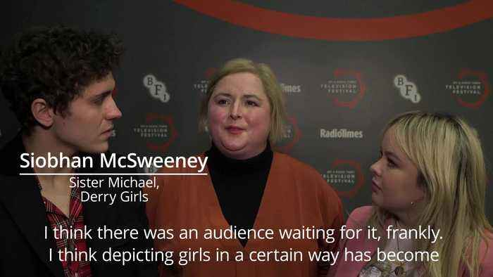 Derry Girls star says the show redefines female roles