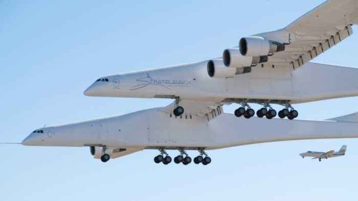 The World's Largest Plane Takes Off for the First Time