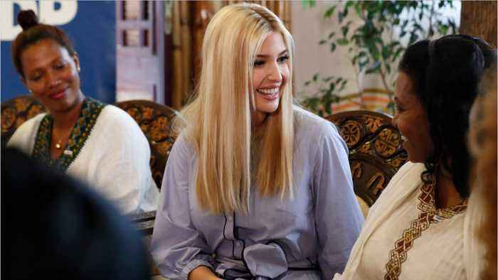 Ivanka Trump In Africa To Promote Women Working