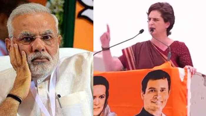 Priyanka Gandhi slams PM Modi says, 'Talk about India, not Pakistan' | Oneindia News