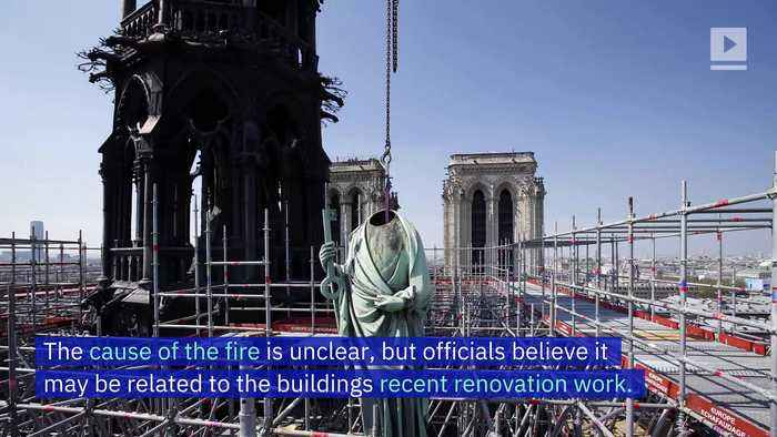 Massive Fire Breaks Out at Notre Dame Cathedral