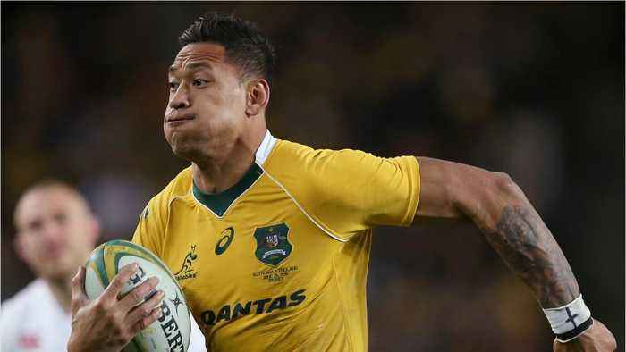 Rugby's Israel Folau Refuses To Take Down Discriminatory Comments