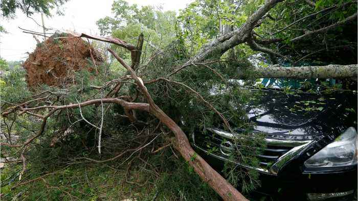 New England Deadly Storms Leave Thousands Without Power