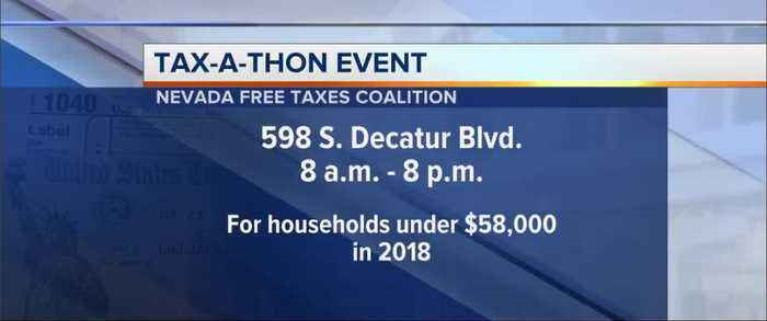 Free help for Tax Day in Nevada