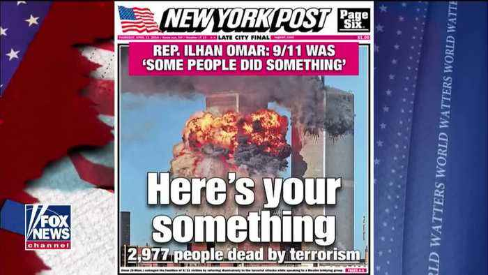 The NY Post responds to Ilhan Omar's comments about 9/11