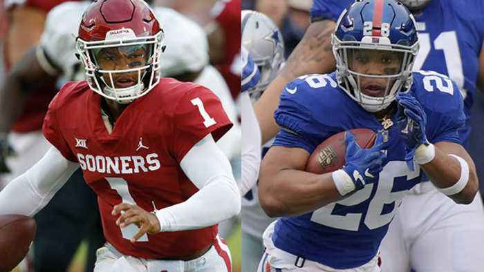 What would the New York Giants' offense look like with Kyler Murray?