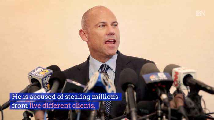 Michael Avenatti May Be In 382 Years Worth Of Trouble
