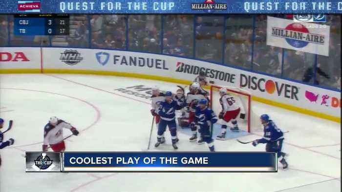 QUEST FOR THE CUP   Millian-Aire Coolest Play of the Game April 14