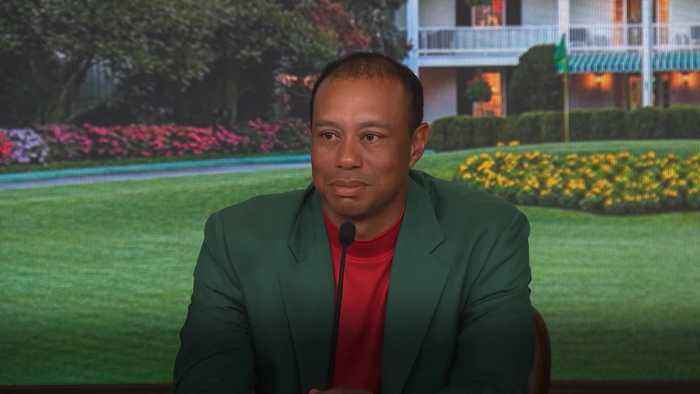 Tiger Woods on 'amazing' 15th major title win