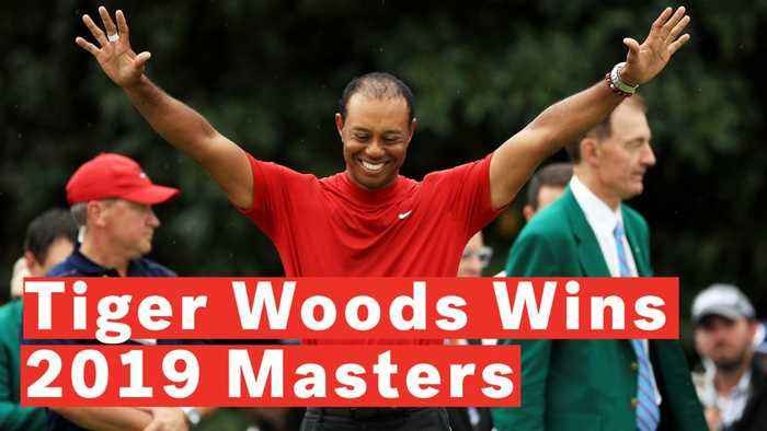Tiger Woods Wins Fifth Masters Title