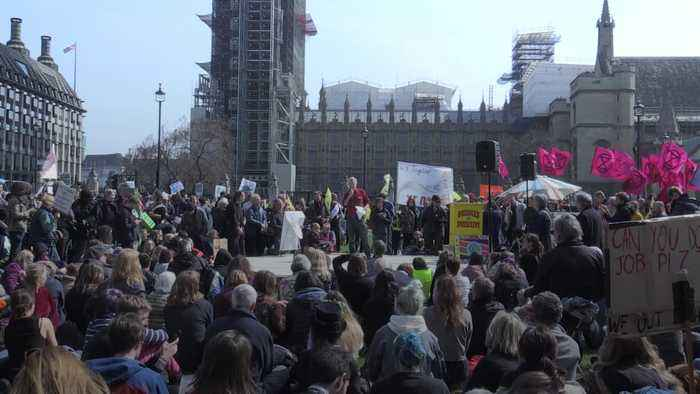 Environmental protesters block five central London locations