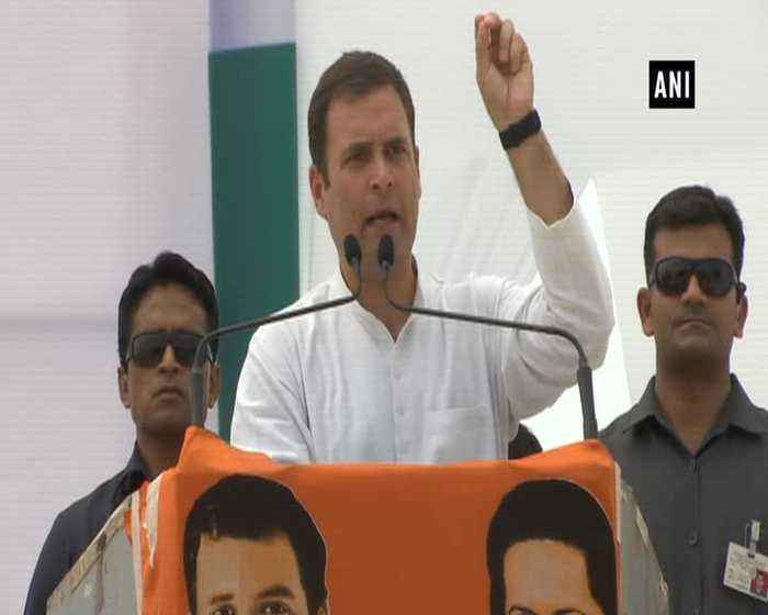 Rahul Gandhi asks PM Modi about money used in massive publicity