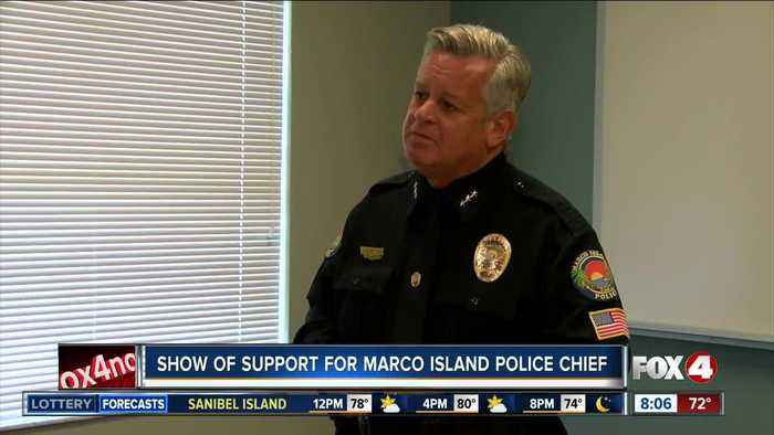 Show of support expected for Marco Island Police Chief