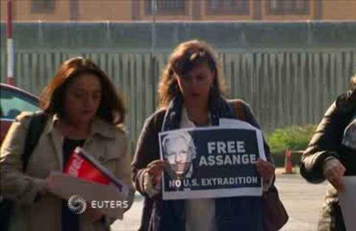 International lawmakers call for Assange release