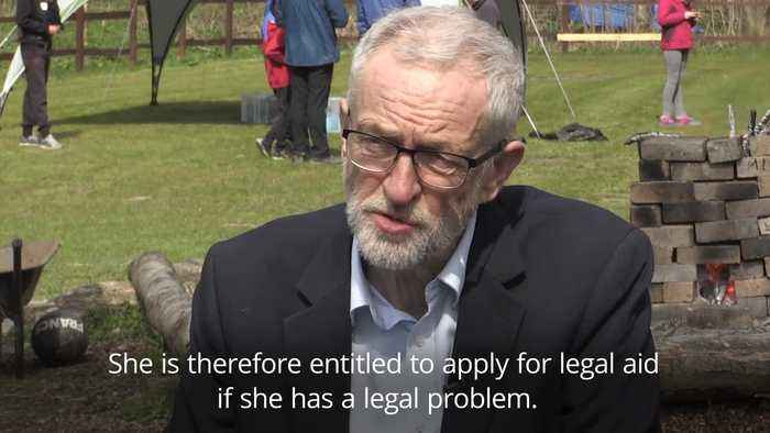 Corbyn: Begum is entitled to apply for legal aid