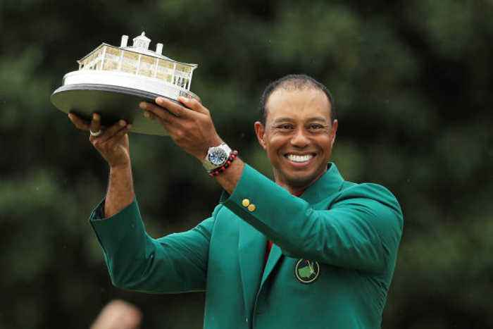 Celebrities Congratulate Tiger Woods on Win at the Masters